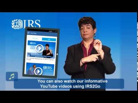 File Taxes with the Free IRS Mobile App – IRS 2 Go 5.2