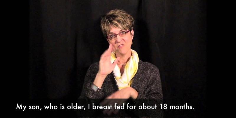 Breastfeeding facts: Information for Deaf Moms