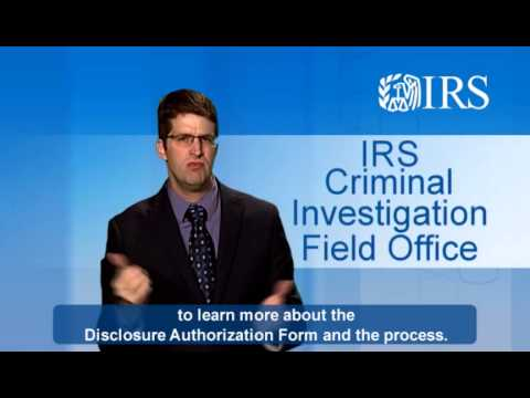 ASL: IRS Identity Theft FAQ: Going After The Bad Guys (Captions & Audio)