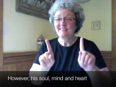 ASL Poem – To A Hearing Mother
