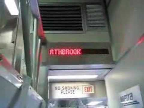 Deaf accessible train in Chicago