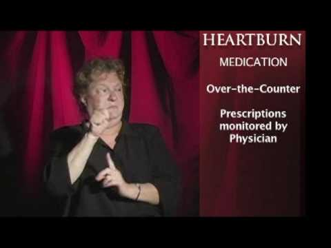 Heartburn Pain – ASL Health Problems