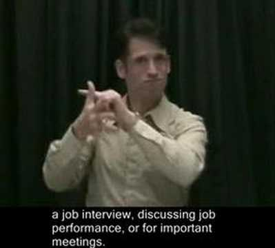 public-service Disability Law Lowdown in ASL – Show 2 Part 1